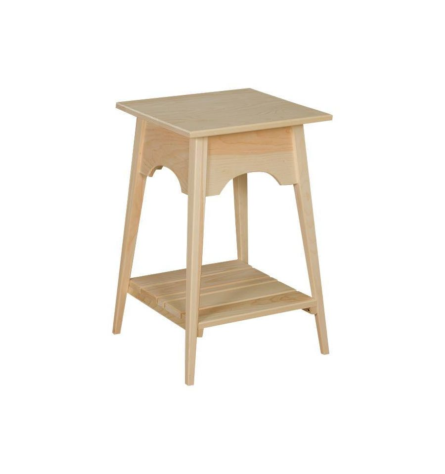 Small Shaker Slat Table $82