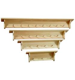 Pine Peg Shelves $29 & up