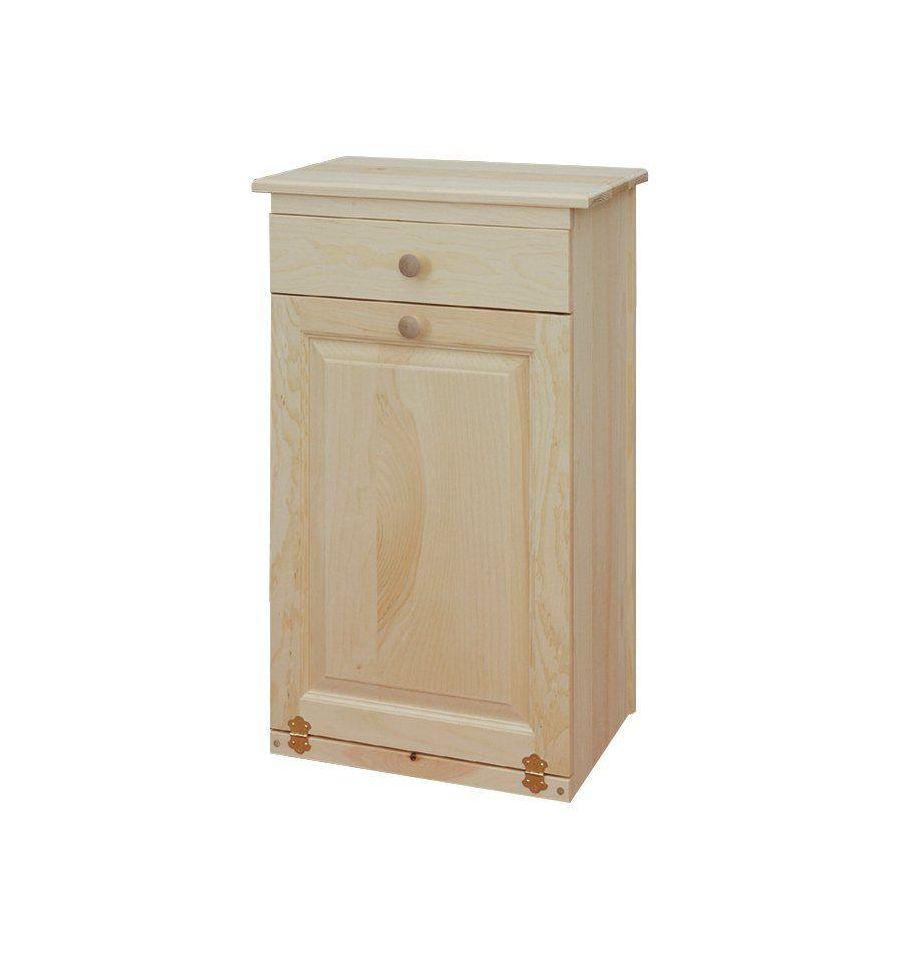 Trash Bin w/Drawer $153