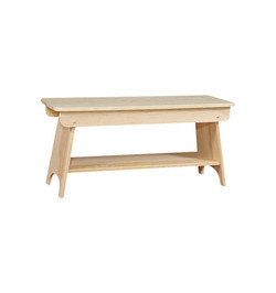 Bench w/Shelf starting at $83