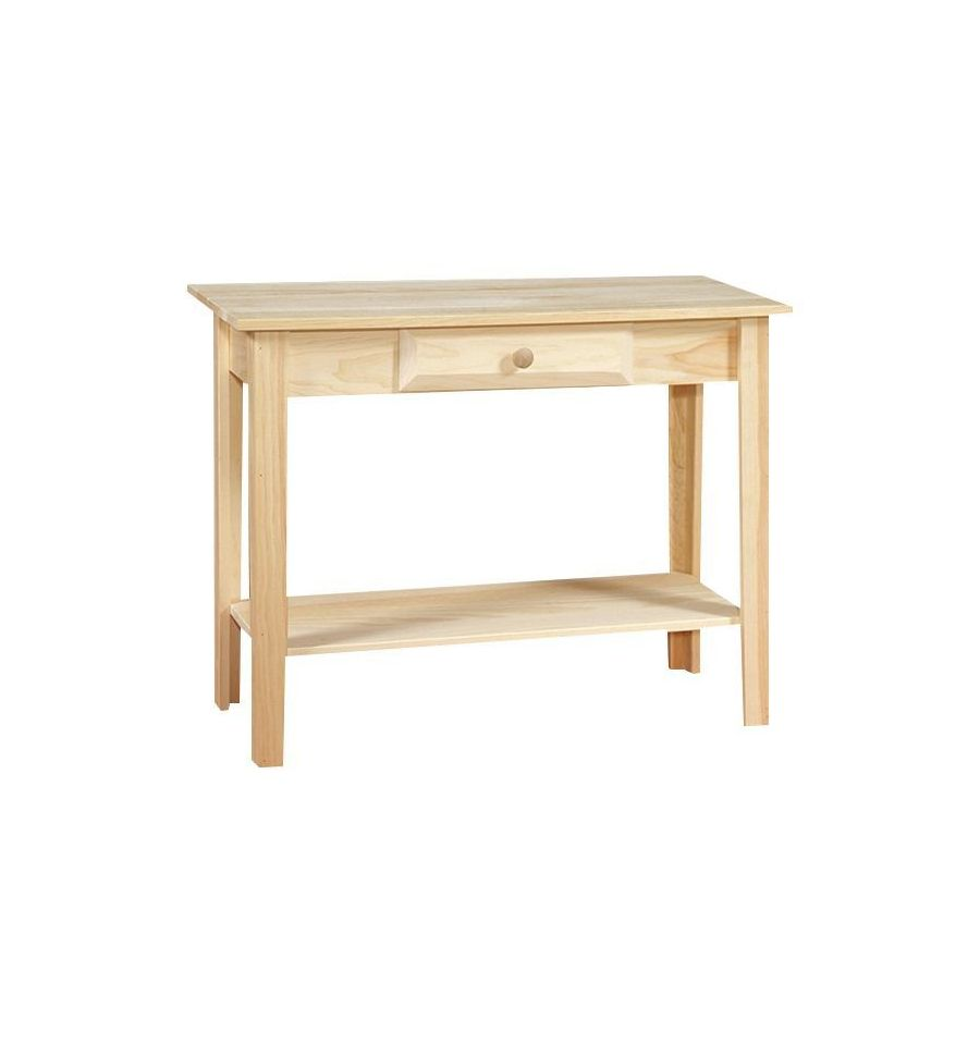 Sofa Table w/Shelf $99