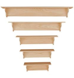 Knotty Pine Shelves $26 & up