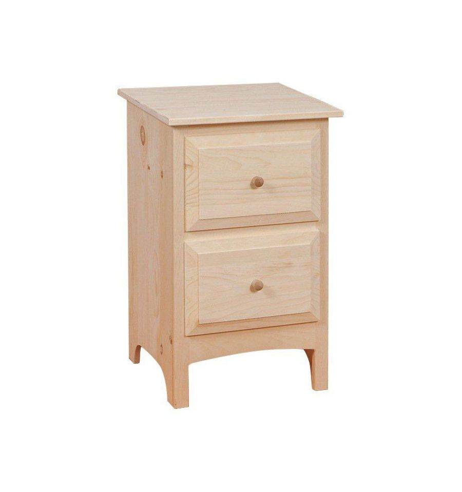 2 Drawer Nightstand $151