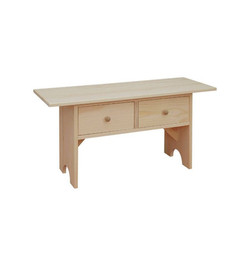 Coffee Table Bench $113
