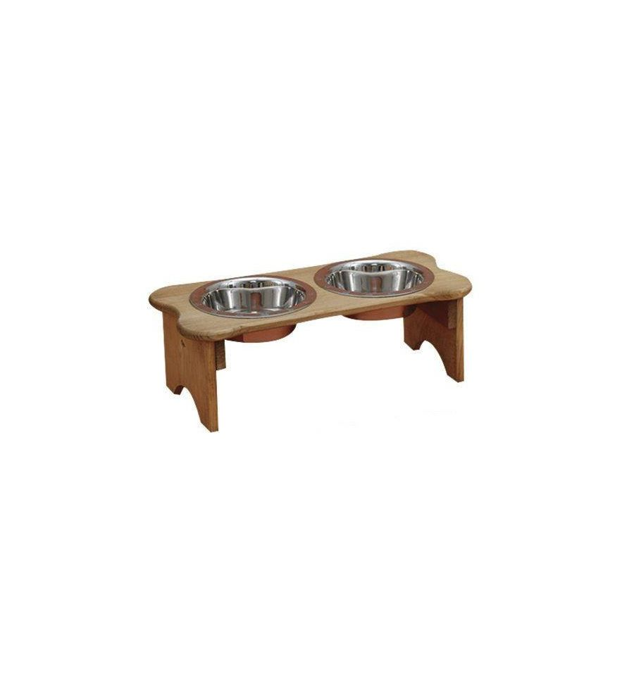 Tall Dog Bone Dish $37