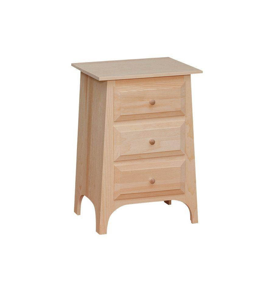 3 Drawer Nightstand $151
