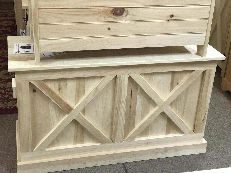 Barn Door Chest $270