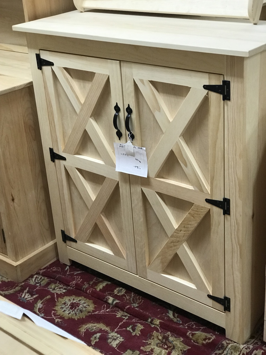 2 Door Jelly Cabinet $254