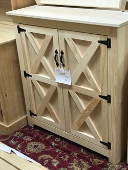 2 Door Jelly Cabinet $284