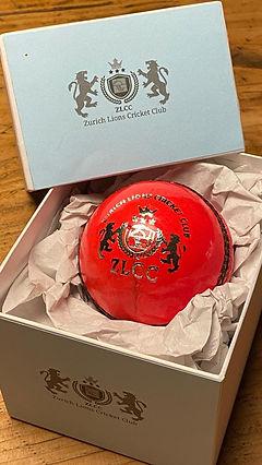 Official ZLCC Cricket Ball