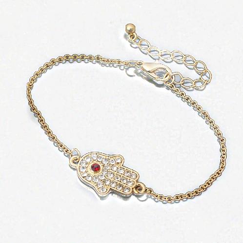 Lilly Hamsa Bracelet