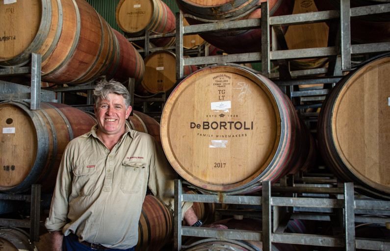 Vineyard Manager Rob Sutherland