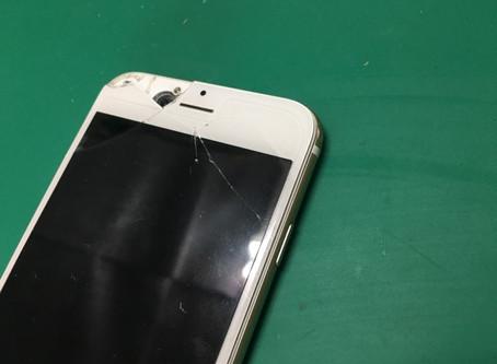iPhone6画面割れ修理。液晶の交換方法