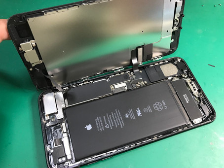 iPhone7Plusマイクにノイズが入る。ライトニングコネクター修理