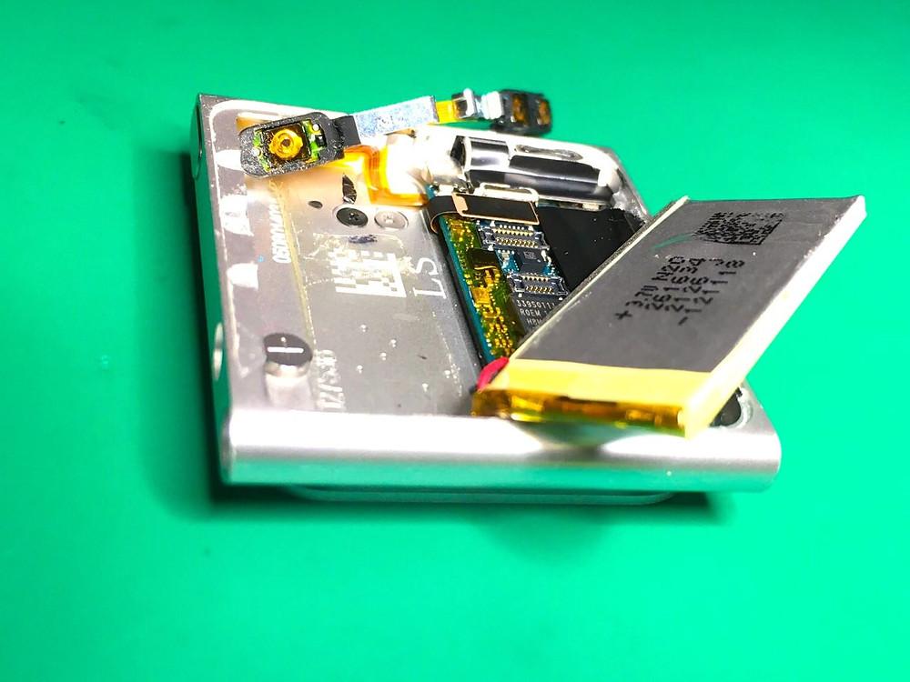 iPod nano6世代分解修理