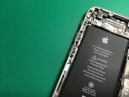 iPhoneのボリュームボタンが凹んで押されっぱなし。iPhone6ボリュームボタン修理