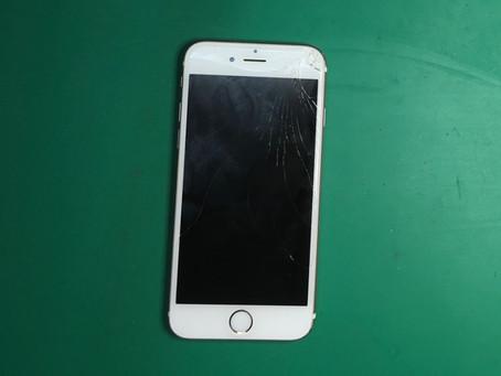 iPhone6s画面割れ修理。液晶交換方法。