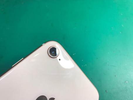 【iPhone修理】iPhone8カメラレンズ割れ修理