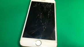 大阪の梅田でiPhone6sの画面割れ修理をする