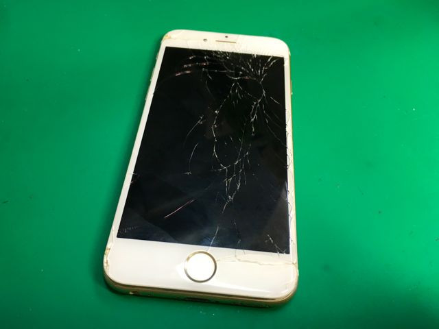 iPhone6s 画面割れ修理
