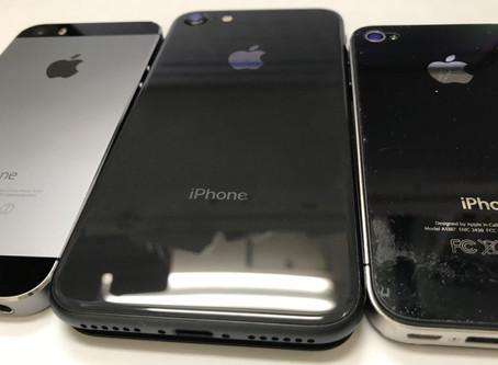 iPhone8を修理開始準備のため分解してみました。iPhone8の分解動画