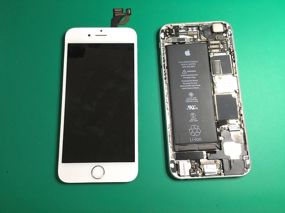 iPhone修理分解中