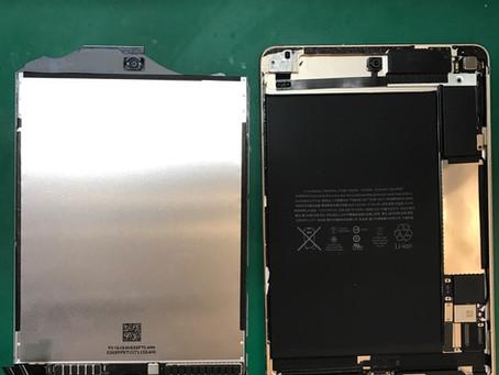 【iPad修理】iPadmini4世代のガラス割れ修理&液晶交換修理