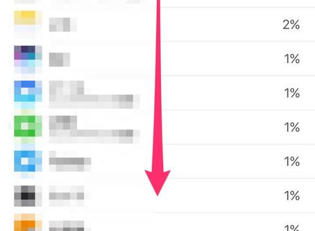 iPhoneのバッテリーの減りが極端に早いと感じたら確認したい3つのポイント