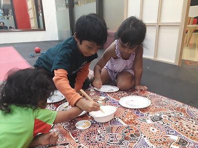 sensory play sensory class kids pj daman