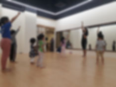 dance class for toddlers and kids in pj