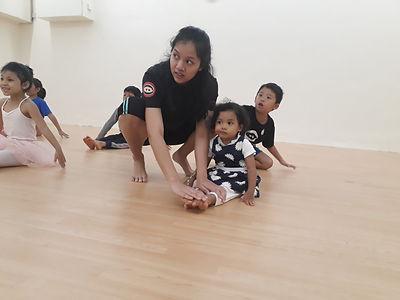 toddler ballet and dancein pj damansara