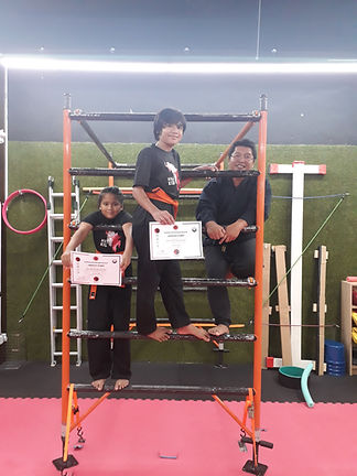 ninjutsu class for children in pj bangsa