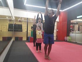 kids gymnastics class in pj damansara tt