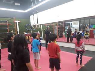 self defense kids pj damansara ttdi band