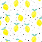 Tissu créateur Citron