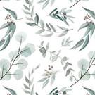 Tissu créateur Eucalyptus