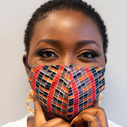 FACE MASK -ANKARA ( AFRICAN PRINT)