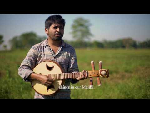 Majuli song sung by Nilotpal Bora