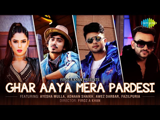 """GHAR AAYA MERA PARDESI"" LYRICS - Fazilpuria, Jyotica Tangri  