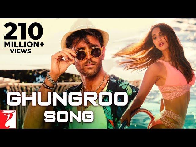 """""""Ghungroo"""" Lyrics   War   Vishal & Shekhar  ft  Arijit Singh   Shilpa Rao   Latest Hindi Song 2019"""