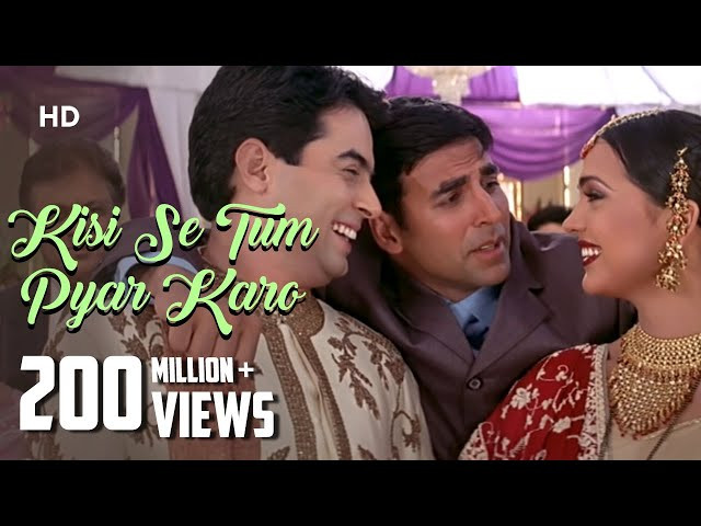 """KISI SE TUM PYAAR KARO"" LYRICS - Kumar Sanu 