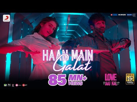 """""""Haan Main Galat"""" Lyrics   Love Aaj Kal   Arijit Singh"""