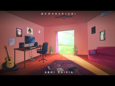 Meghranjani Lyrics by Abhi Saikia | Latest Assamese song