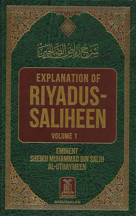 Explanation Riyadus-Saliheen 1/2