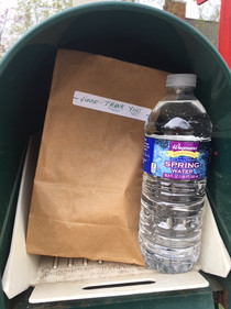 Ron's mailbox thanks.JPG