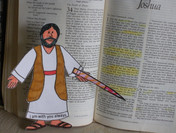 Looking up the Bible Verses that Kinderg