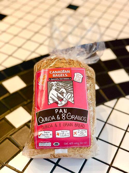 Pan 8 Granos & Quinoa 625grs
