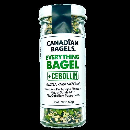 Everything Bagel Seasoning + Cebollín