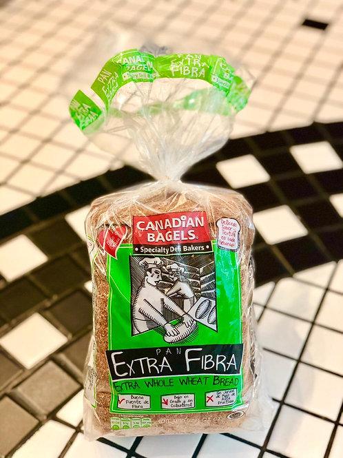 Pan de Extra Fibra 625grs