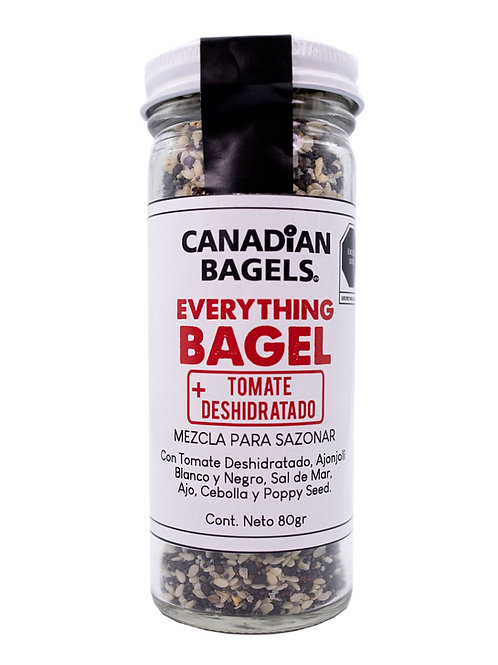 Everything Bagel Seasoning + Tomate Deshidratado